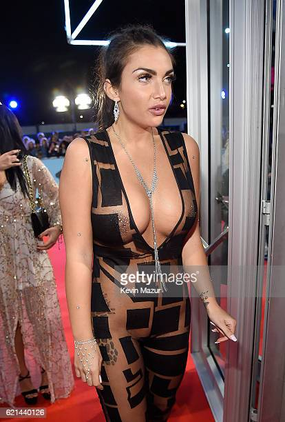 Elettra Lamborghini attends the MTV Europe Music Awards 2016 on November 6 2016 in Rotterdam Netherlands
