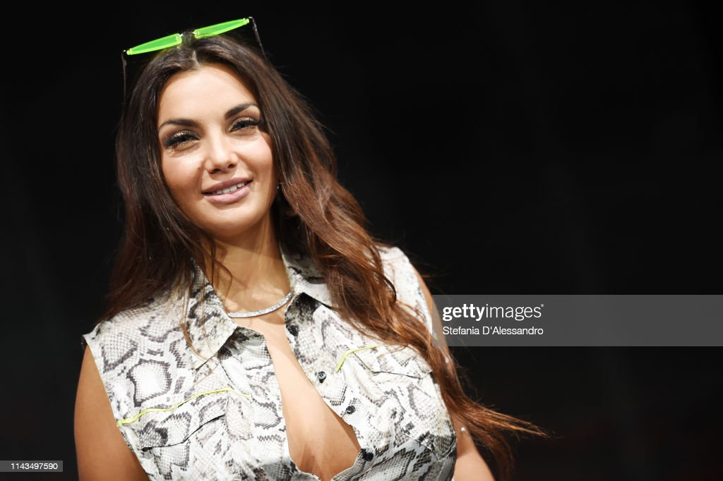 Elettra Miura Lamborghini Attends A Photocall To Launch The Voice Of