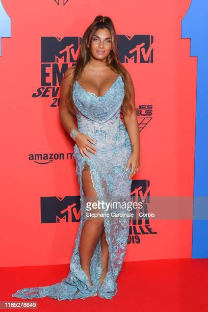 Elettra Miura Lamborghini attends the MTV EMAs 2019 at FIBES Conference and Exhibition Centre on November 03 2019 in Seville Spain
