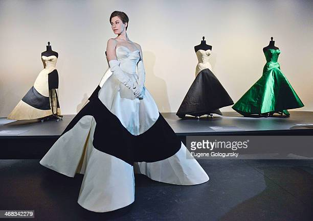 Elettra Rossellini attends The Metropolitan Museum Of Art Presents Charles James Exhibition Press Preview at Metropolitan Museum of Art on February...