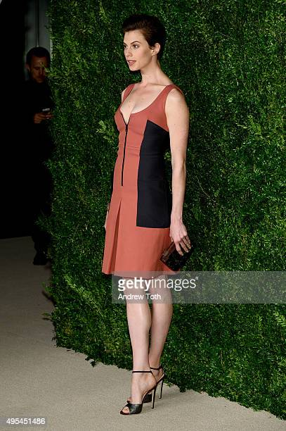 Elettra Rossellini Wiedemann attends the 12th annual CFDA/Vogue Fashion Fund Awards at Spring Studios on November 2, 2015 in New York City.