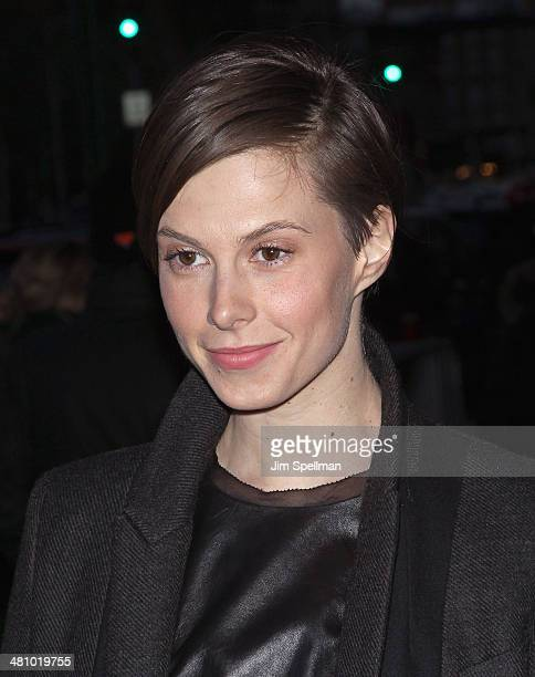 Elettra Rossellini Wiedemann attends the Fox Searchlight Pictures' 'Dom Hemingway' screening hosted by The Cinema Society And Links Of London on...