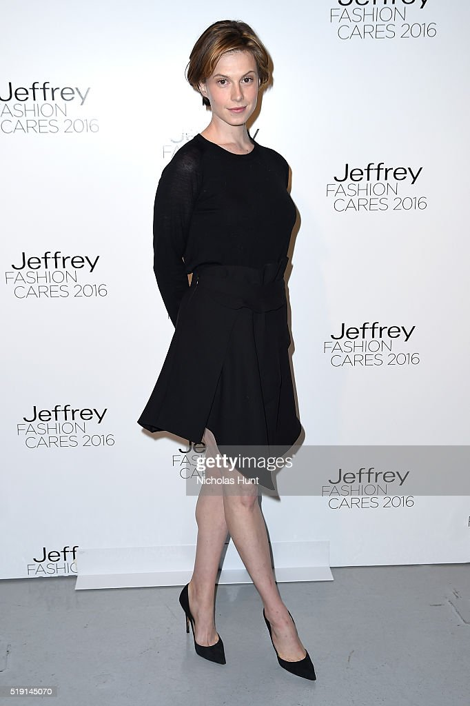 Elettra Rossellini Wiedemann attends the Jeffrey Fashion Cares 13th Annual Fashion Fundraiser at the Intrepid Sea-Air-Space Museum on April 4, 2016 in New York City.