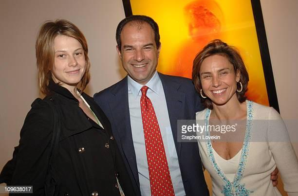 Elettra Rossellini Wiedemann, Massimo Ferragamo and Chiara Ferragamo