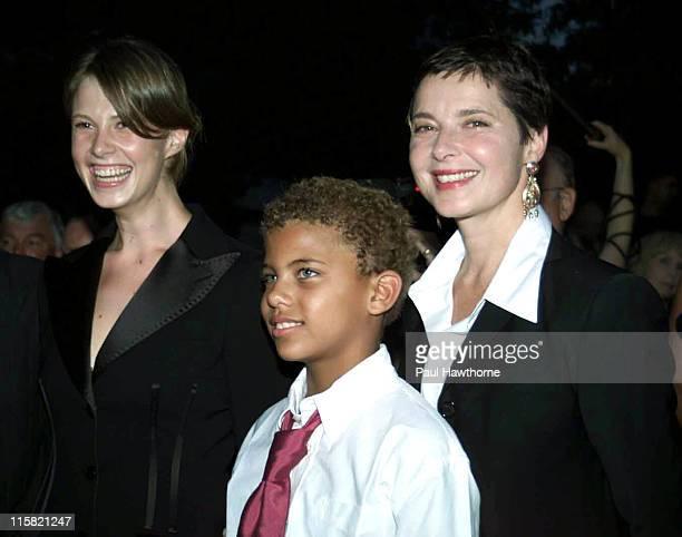 Elettra Rossellini Wiedemann Roberto Rossellini and mother Isabella Rossellini