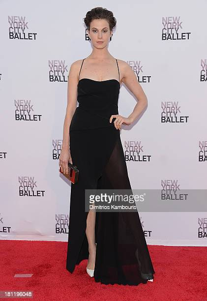Elettra Rossellini-Wiedemann attends New York City Ballet 2013 Fall Gala at David H. Koch Theater, Lincoln Center on September 19, 2013 in New York...