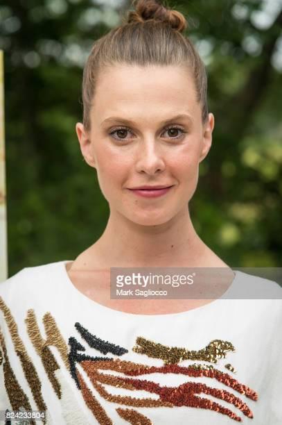 Elettra Wiedemann attends the Hamptons Magazine Celebration with Cover Star Elettra Wiedemannon July 28 2017 in East Hampton New York