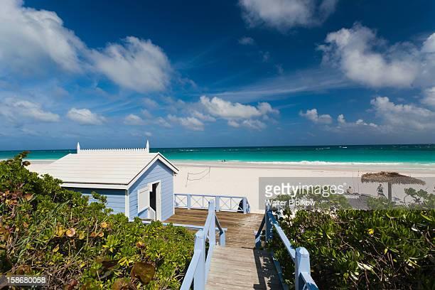eleuthera island, harbour island, pink sands beach - ダンモアタウン ストックフォトと画像