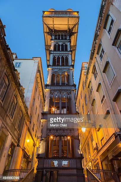 Elevador de Santa Justa in Lisbon