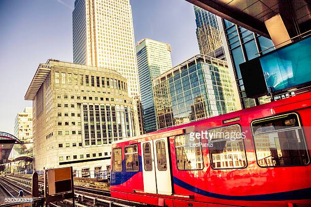 Elevated railroad in London