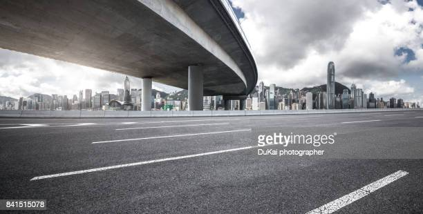 elevated road - low angle view stock pictures, royalty-free photos & images