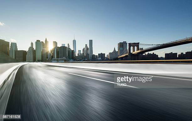 Elevated road-New York City