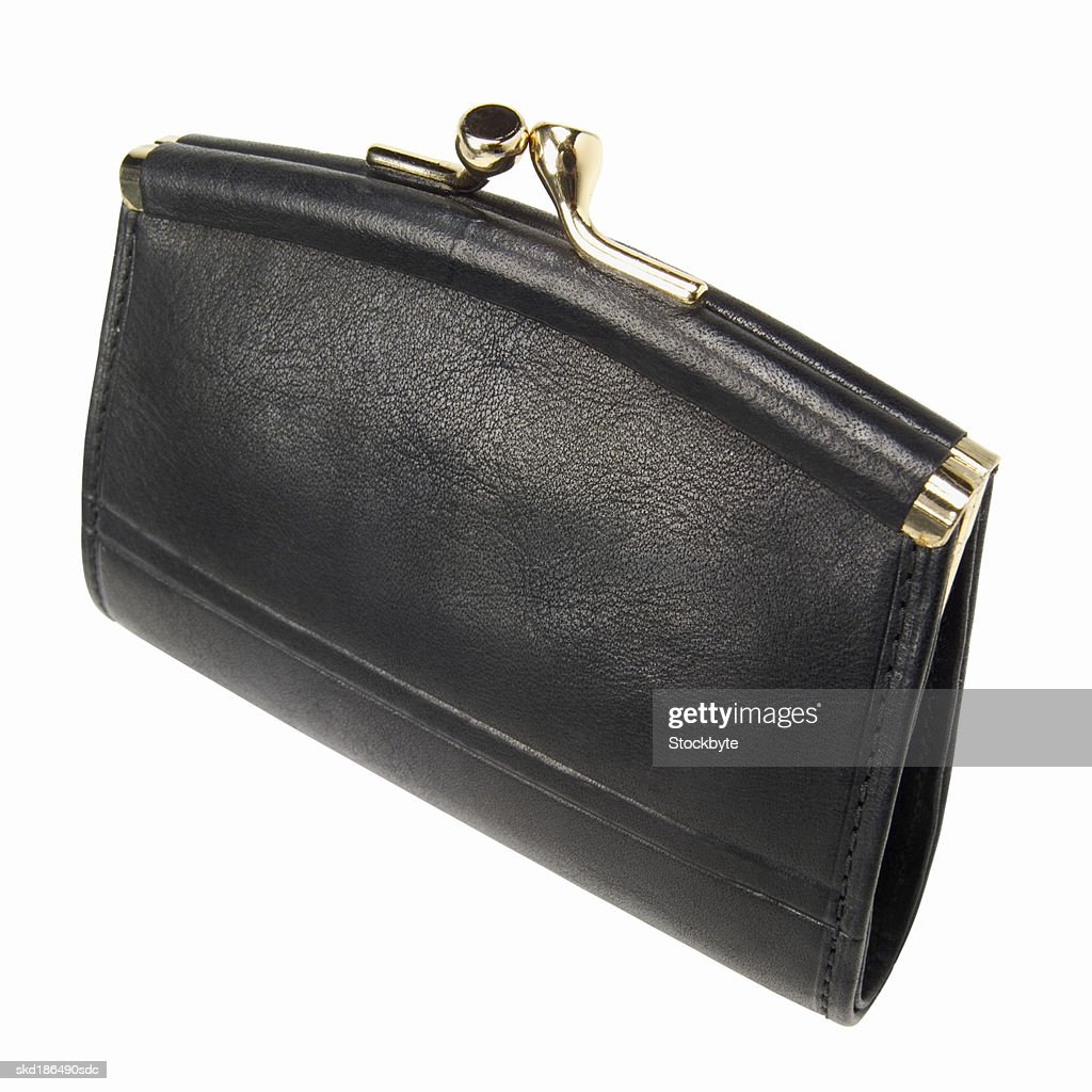 Elevated view a purse : Stock Photo