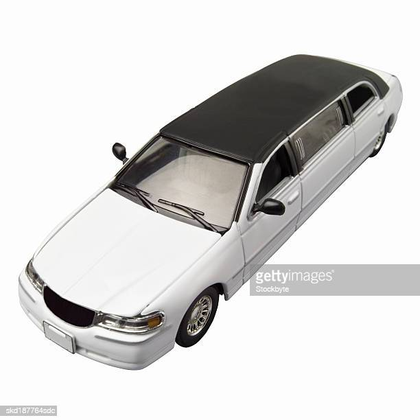 elevated view of a limousine - limousine stock pictures, royalty-free photos & images