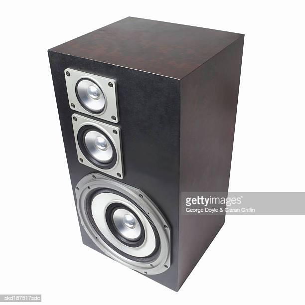Elevated view of a loudspeaker