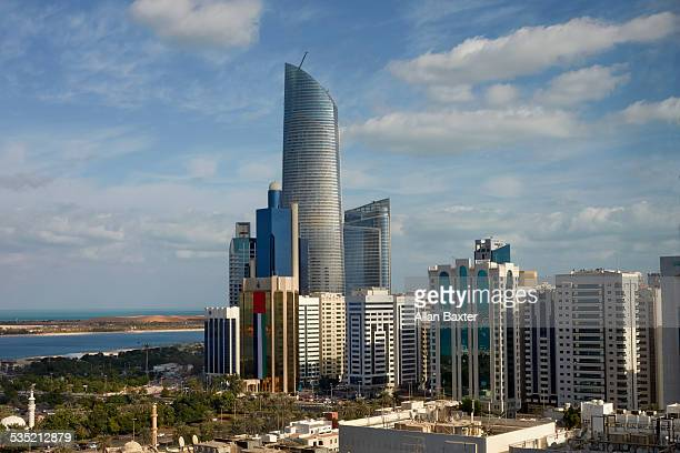 Elevated view of Abu Dhabi