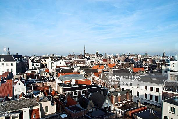 Elevated view of Amsterdam