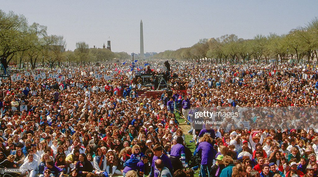 1992 March for Women's Lives : News Photo