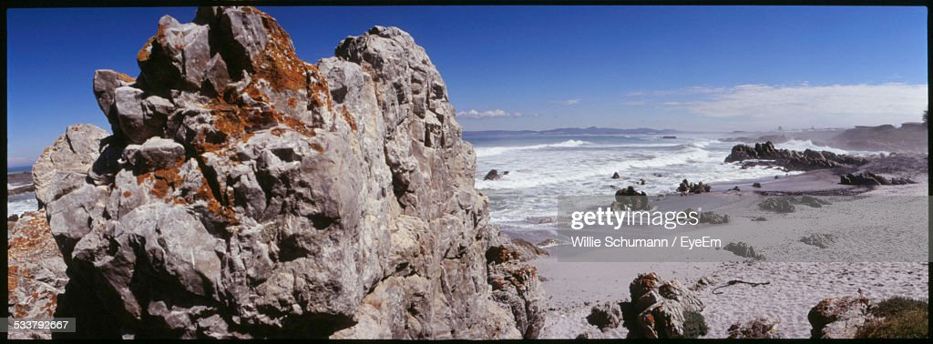 Elevated View Of Beach : Foto stock