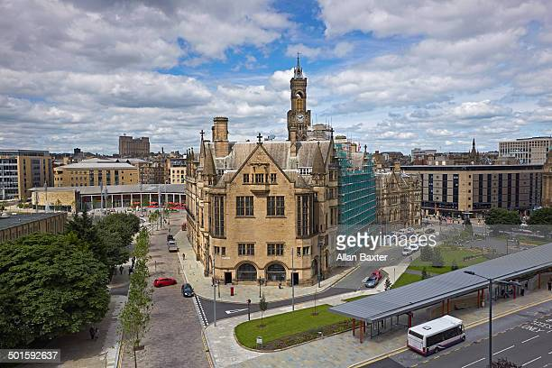 elevated view of bradford - bradford england stock pictures, royalty-free photos & images