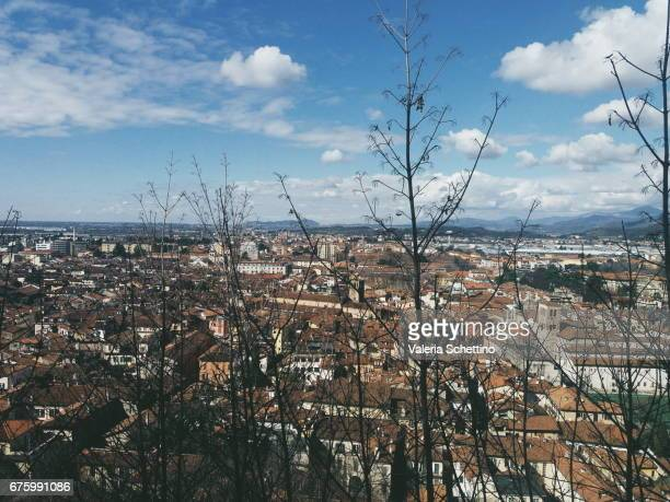 Elevated View of Brescia, Piemonte, Italy