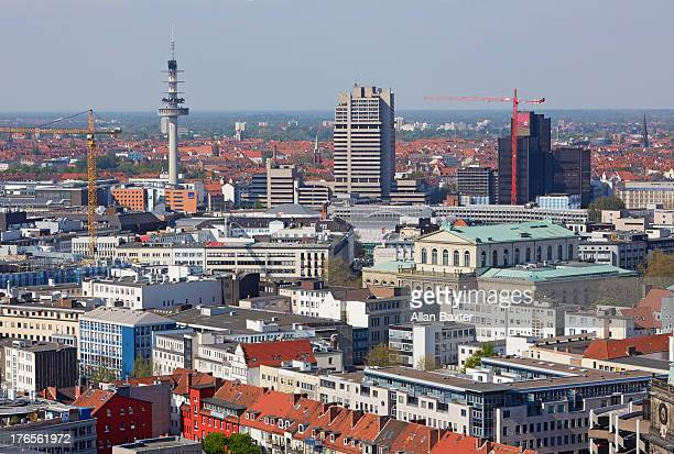 Elevated view of Central Hanover