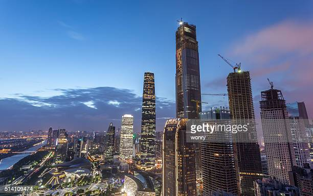 Guangzhou, number 9 on the list, built its first skyscraper in 1990. Since then, there have been more than 100.
