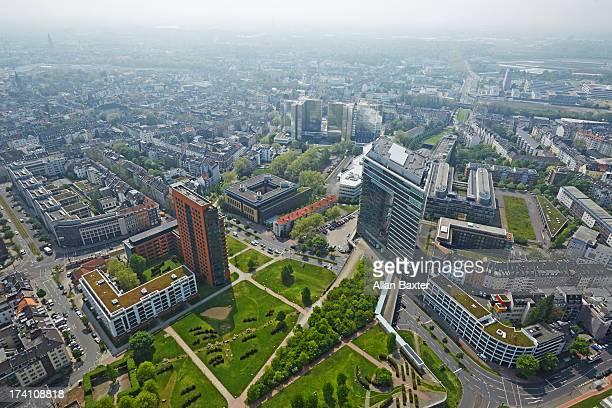 Elevated view of Dusseldorf