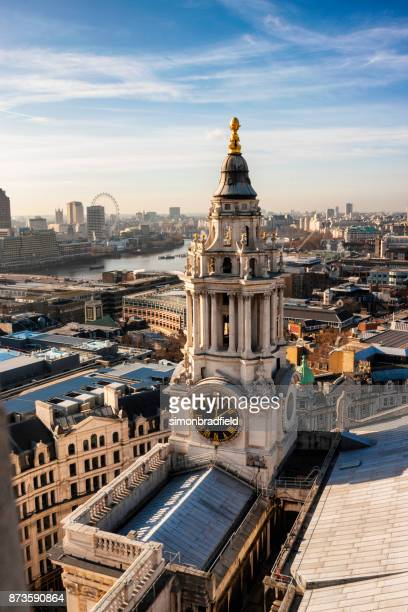 Elevated View Of London From St Paul's Cathedral