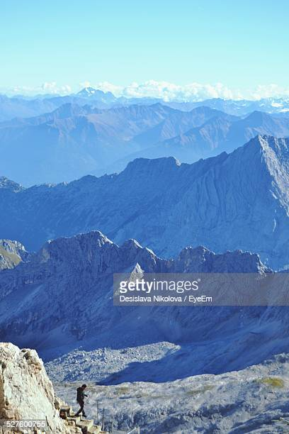 Elevated View Of Mountains