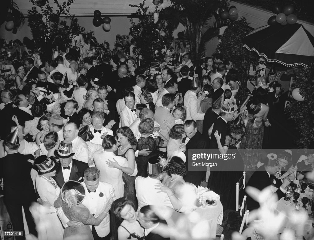 New Year's Eve Party, 1940 : News Photo