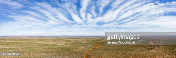 elevated view of the gibb river road - jeremy woodhouse stock pictures, royalty-free photos & images