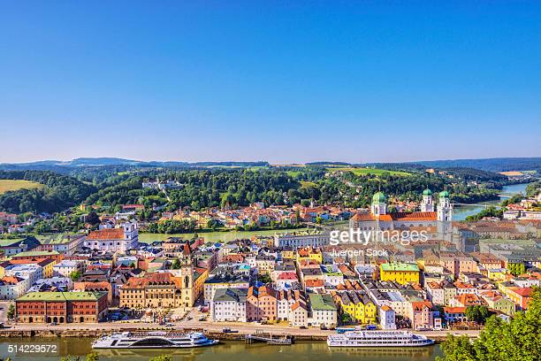 Elevated view on Passau