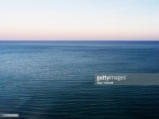 elevated view out to sea - elevated view stock pictures, royalty-free photos & images