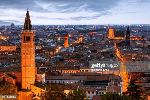 Elevated View, Verona, Italy