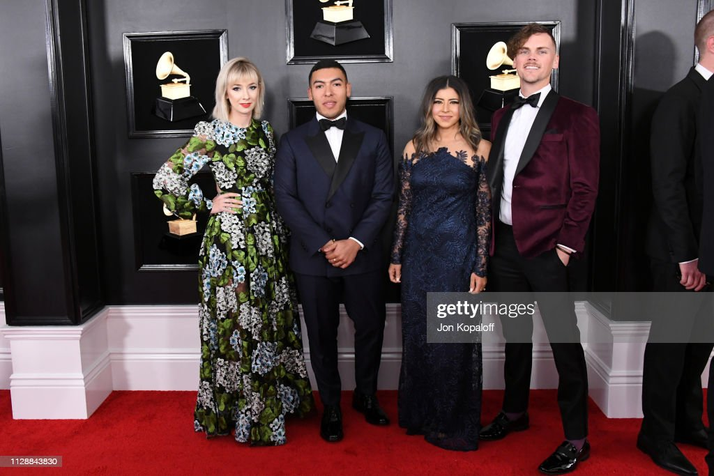 Elevation Worship attends the 61st Annual GRAMMY Awards at
