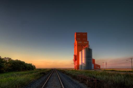 Elevator at Carey, Manitoba 510158146