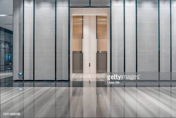 elevator entrance - lobby stock pictures, royalty-free photos & images