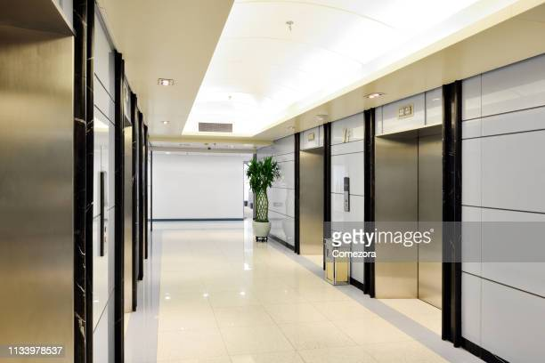 elevator room - entrance sign stock pictures, royalty-free photos & images