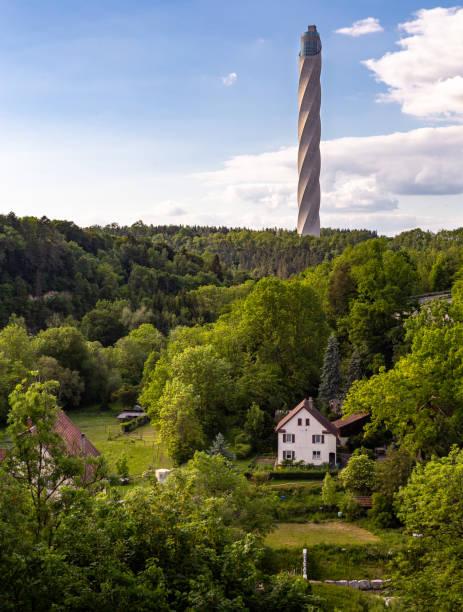 TK Elevator Testturm (TK Elevator Test Tower), Rottweil, Germany
