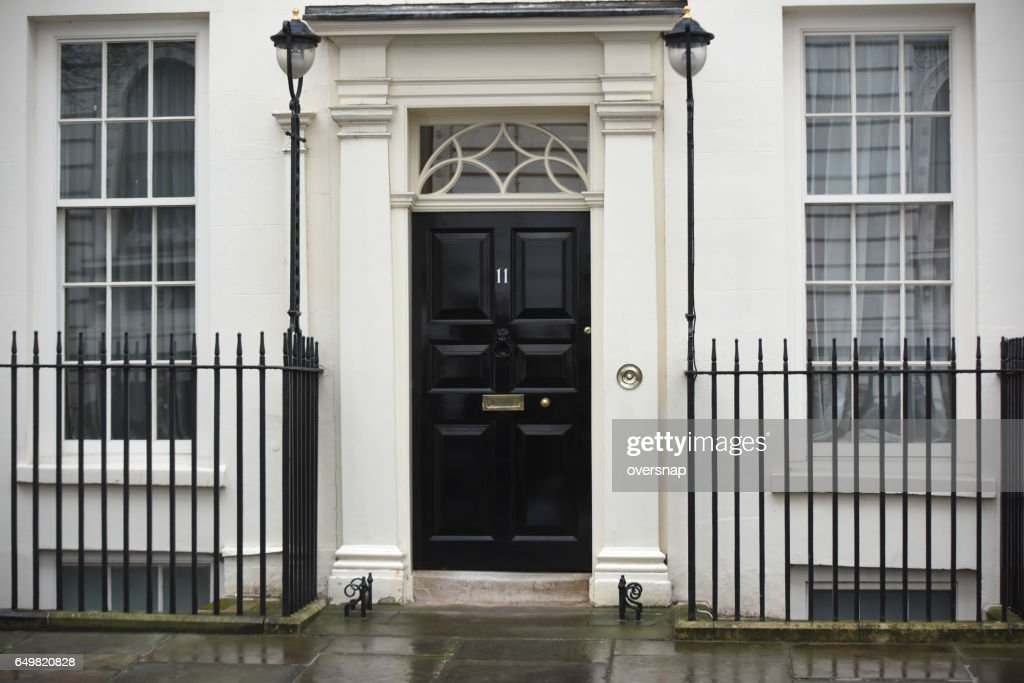 Eleven Downing Street : Stock Photo