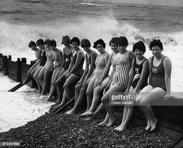 Eleven girl guides and one Sea Ranger, all between the ages of 13 and 16, in training in the hope of being picked for next week's six-girl team to...