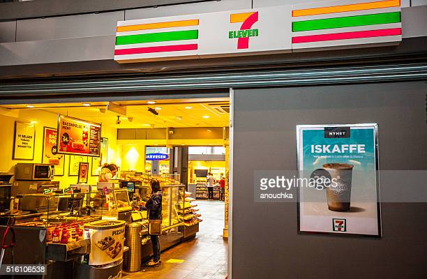 7 Eleven Store at Oslo Train Station, Norway