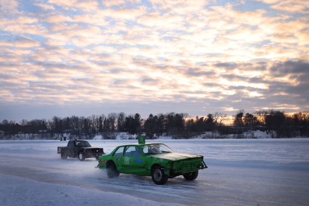 WI: In Wisconsin, Winter Is No Impediment To Auto Racing