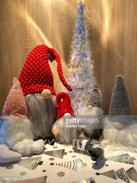 elf family - gnome stock pictures, royalty-free photos & images