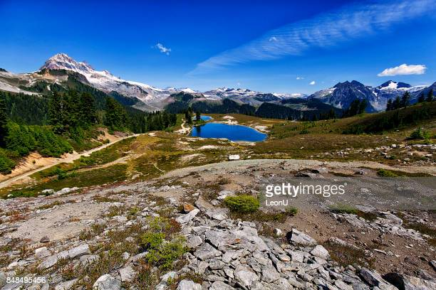 Elfin Lakes in summer, BC, Canada