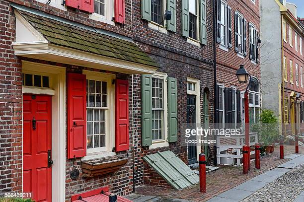 Elfreths Alley is the oldest residential street in the United States