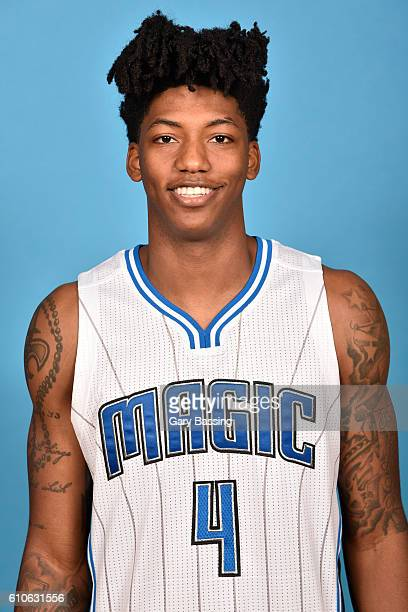 Elfrid Payton of the Orlando Magic poses for a head shot during NBA Media Day on September 26 2016 at Amway Center in Orlando Florida NOTE TO USER...