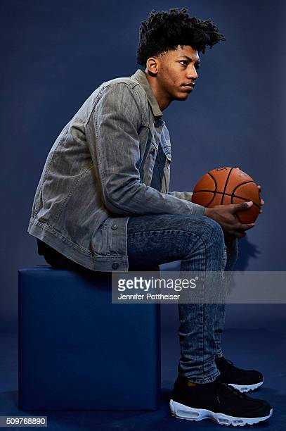 Elfrid Payton of the Orlando Magic poses for a portrait as part of NBA AllStar 2016 on February 11 2016 at the Sheraton Centre in Toronto Ontario...