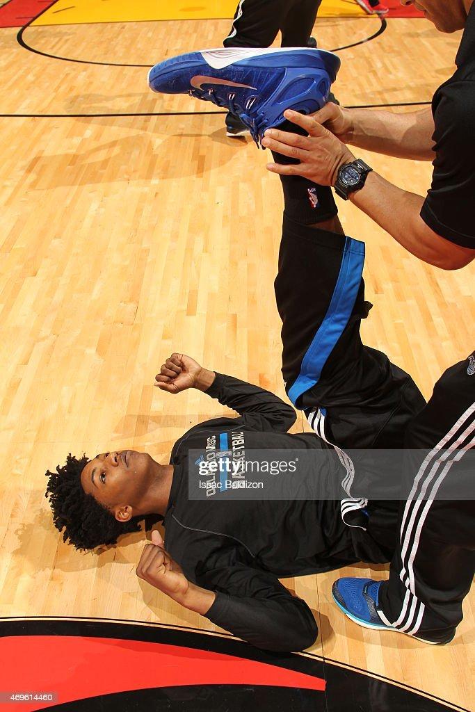 Orlando Magic v Miami Heat : Fotografía de noticias